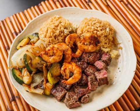 Hibachi Steak & Shrimp