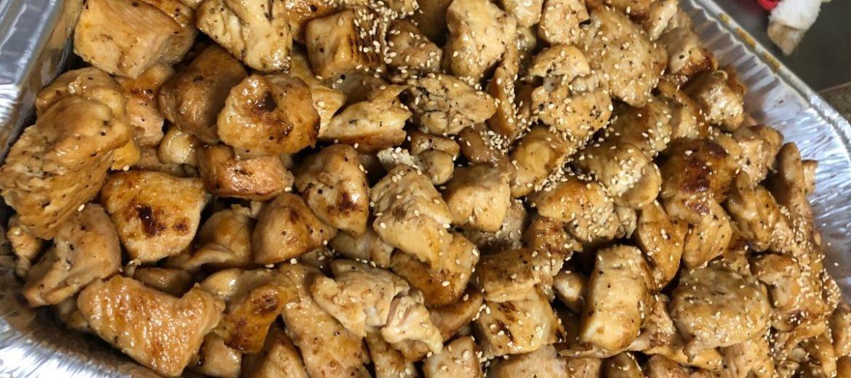 Full Pan of Hibachi Chicken
